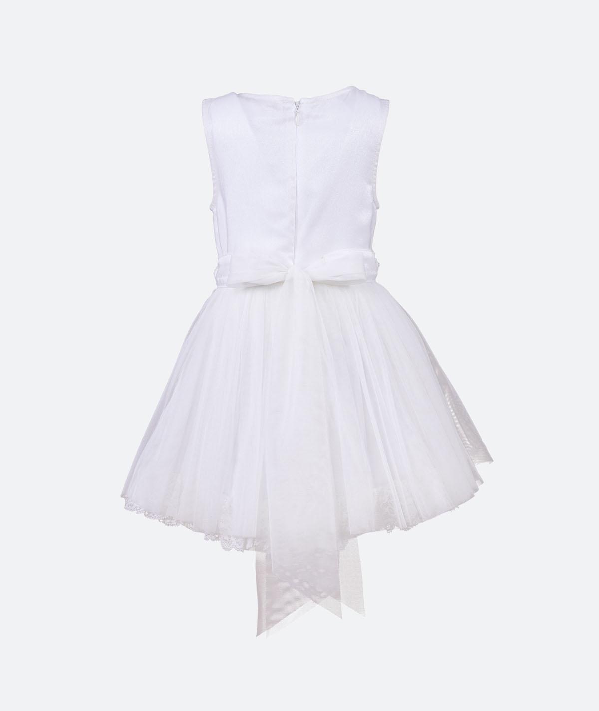 Ina Festkleid aus Baumwolle Blumenmädchen Taufkleid ...